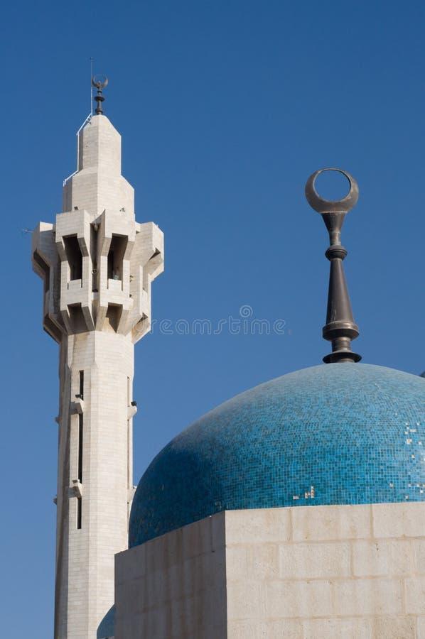 De Moskee van Hussein van de koning stock foto's