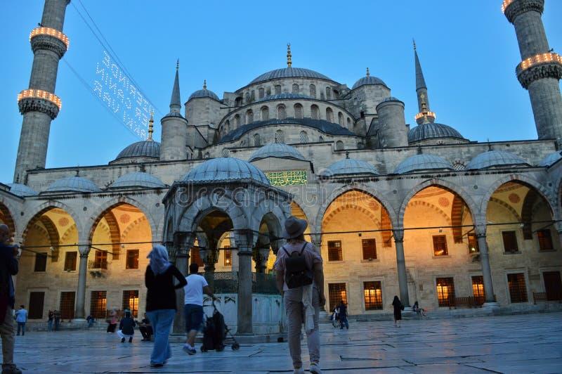 De moskee van Istanboel stock afbeeldingen