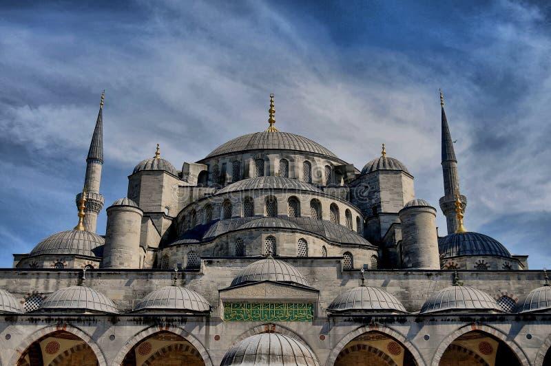 De Moskee van Istanboel beyazit royalty-vrije stock afbeelding