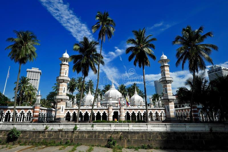 De Moskee van Jamek royalty-vrije stock afbeeldingen