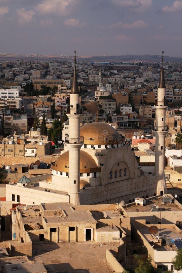 De moskee van Jordanië stock afbeelding