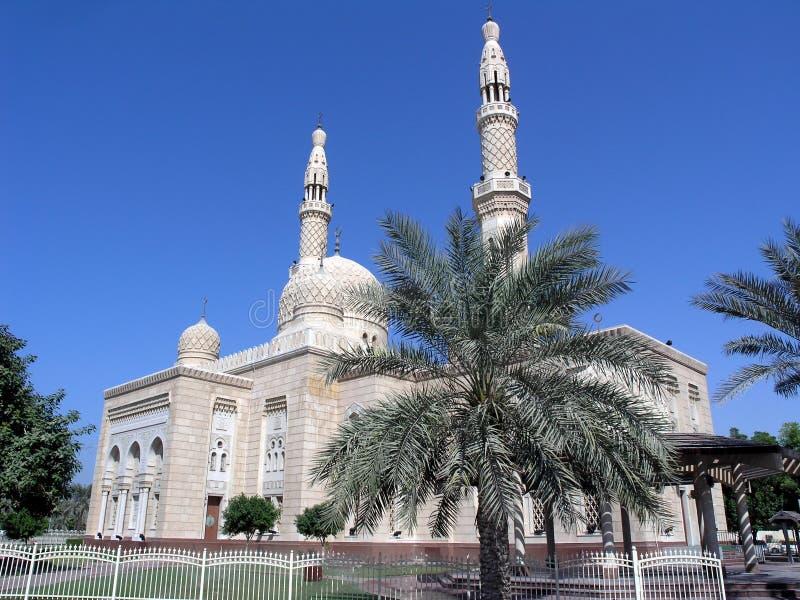 De Moskee van Jumairah royalty-vrije stock afbeelding