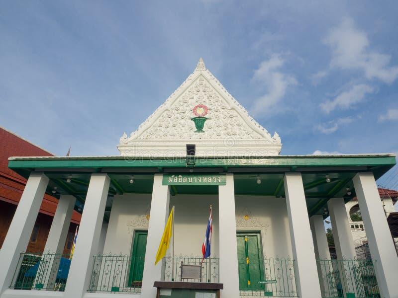 De Moskee van klapluang door een Moslimdiehandelaar wordt gebouwd aan Yi wordt geroepen, het is de enige moskee van baksteen en b royalty-vrije stock afbeelding