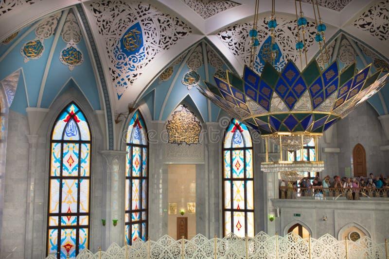 De moskee van Kul Sharif kazan stock foto's