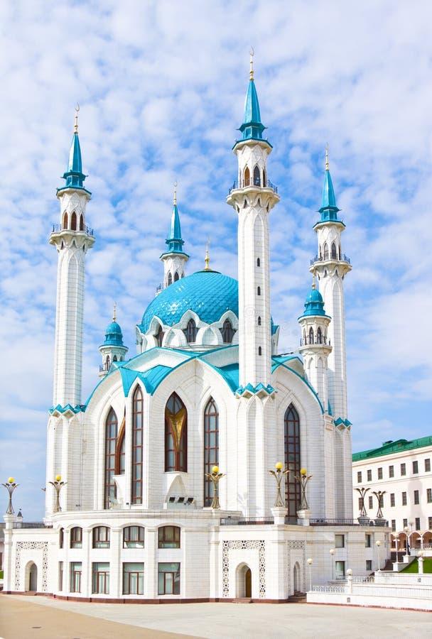 De moskee van Kulsharif, Kazan, Rusland royalty-vrije stock foto