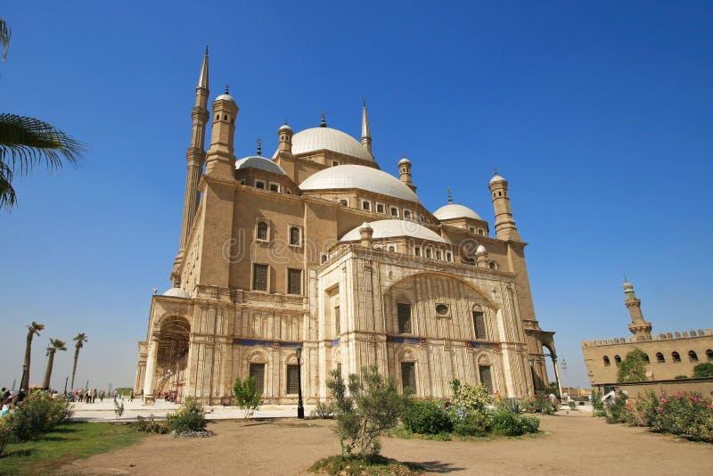 De Moskee van Mohammed Ali Basha, Kaïro - Egypte stock fotografie