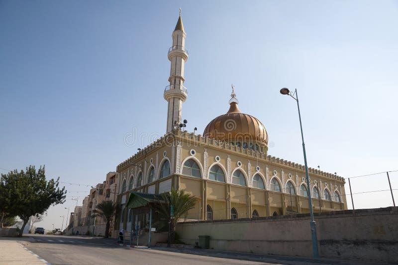 De moskee van Nabi Saeen van de Maquammoskee, Nazareth stock foto's