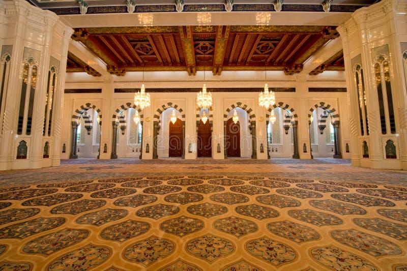 De Moskee van Qaboos van de sultan royalty-vrije stock afbeeldingen