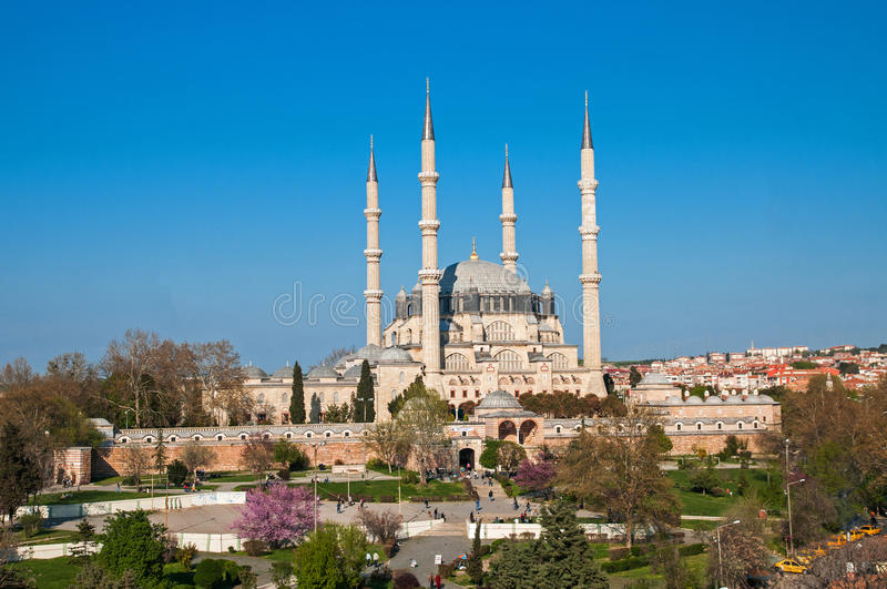 De Moskee van Selimiye stock afbeeldingen