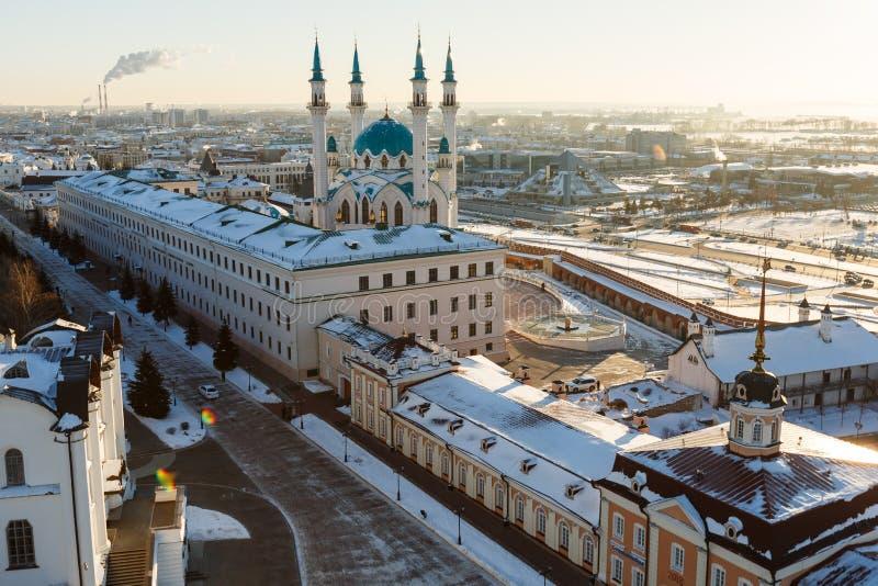 De moskee van Sharif van Kul Kazan stad, stock afbeelding