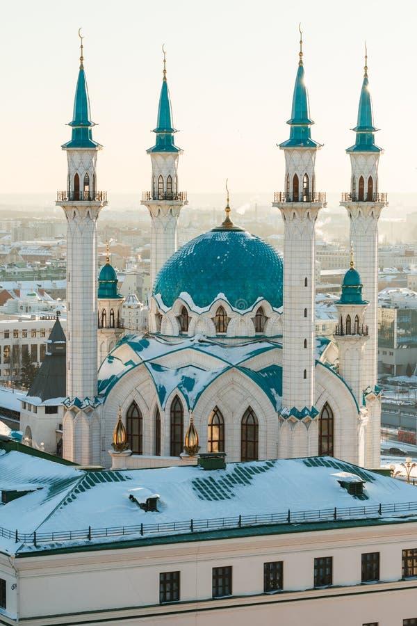 De moskee van Sharif van Kul Kazan stad, royalty-vrije stock foto