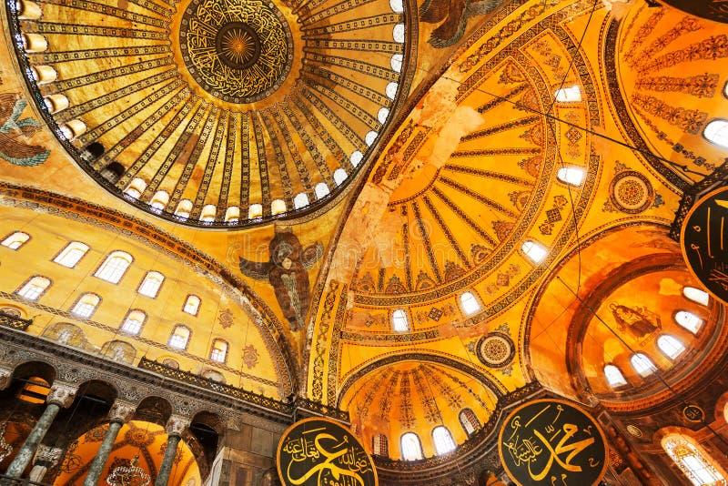 De Moskee van Sofia van Hagia stock afbeelding