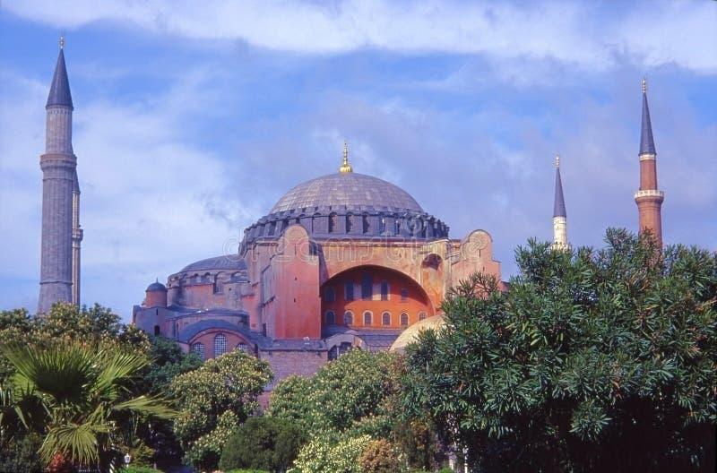 De moskee van Sophie van Sainte, Istanboel royalty-vrije stock foto