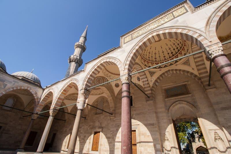 De Moskee van Suleiman royalty-vrije stock afbeelding