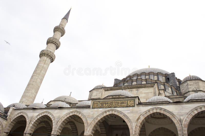 De Moskee van Suleymanie stock afbeeldingen