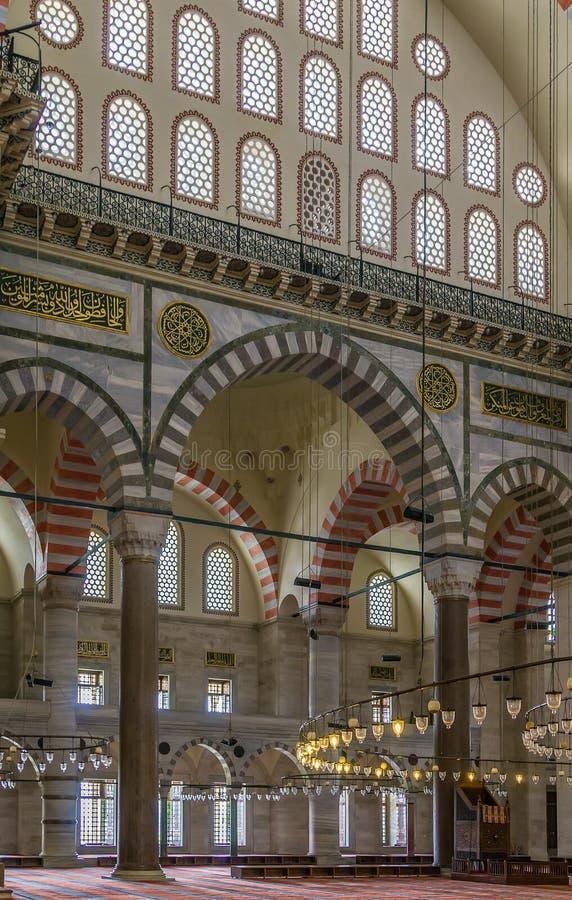 De Moskee van Suleymaniye, Istanboel stock foto