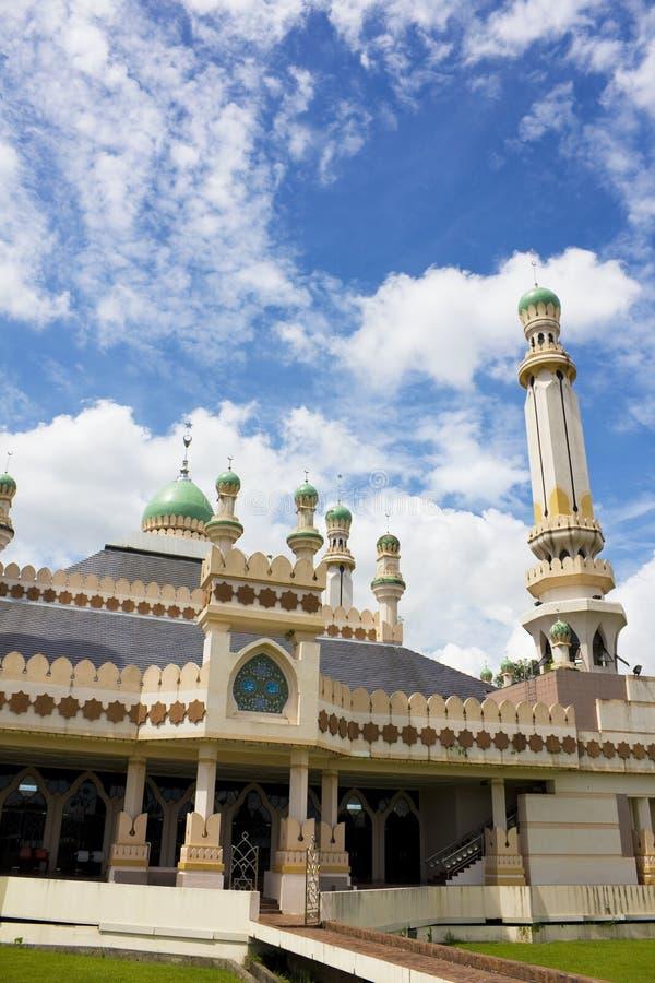 De Moskee van Tamoi van Kampong, Brunei stock afbeeldingen