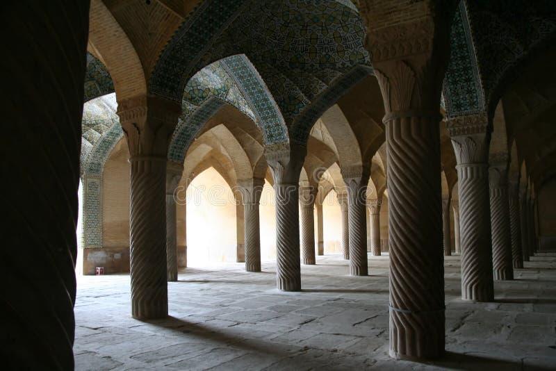 De moskee van Vakil, Shiraz, Iran stock afbeeldingen