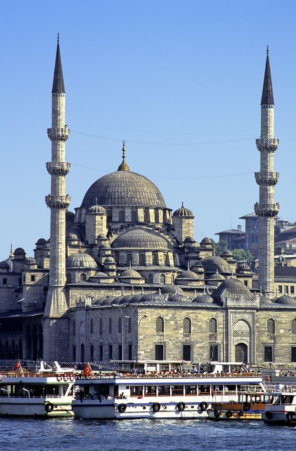 De moskee Yeni van Istanboel stock afbeeldingen