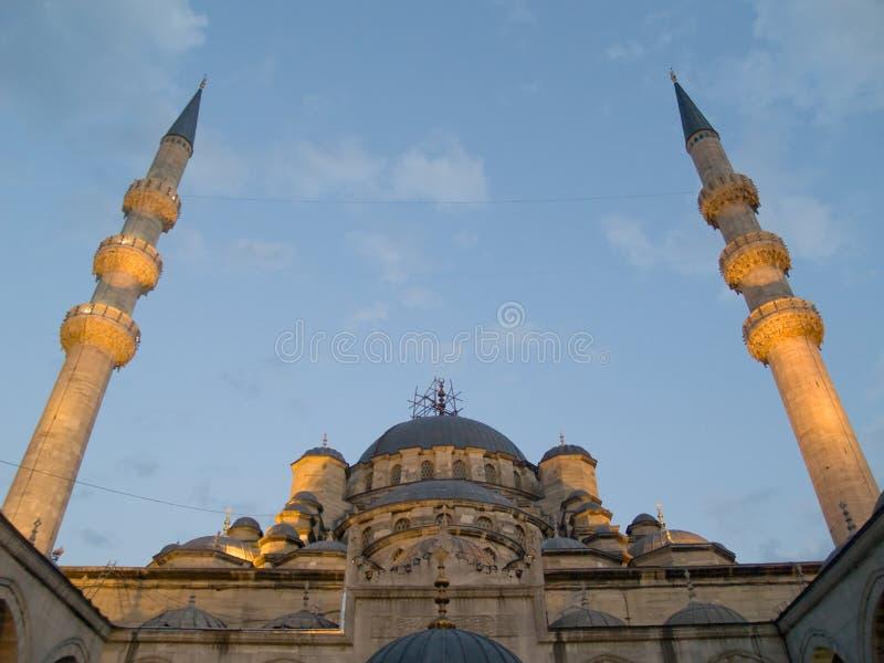 De moskee Yeni van Istanboel stock foto's