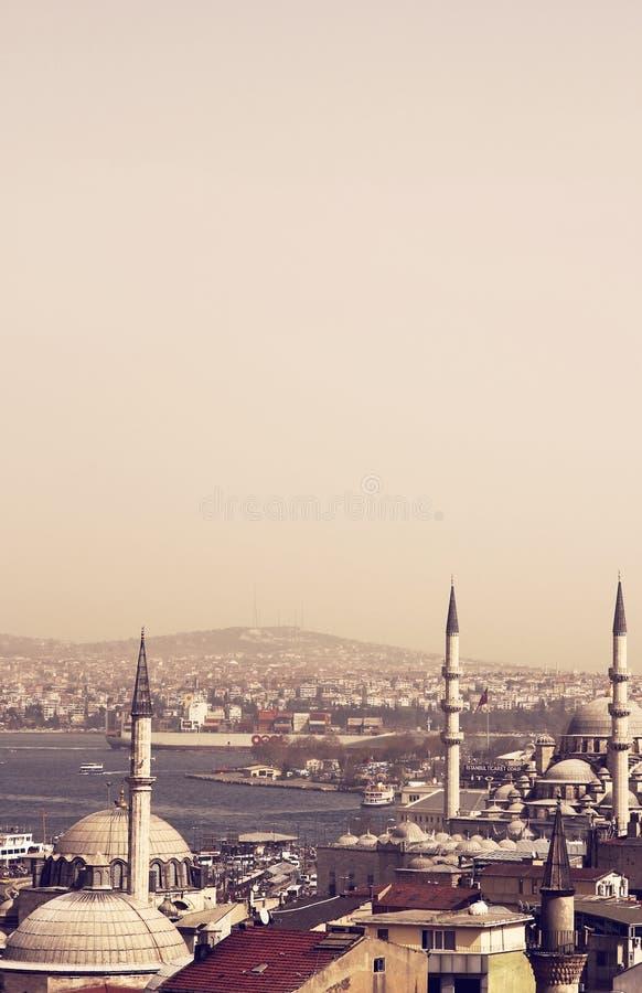 De Moskees van Istanboel stock foto's