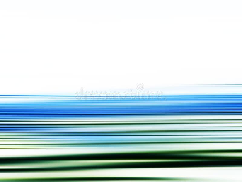 De motie van de hoge snelheid stock illustratie