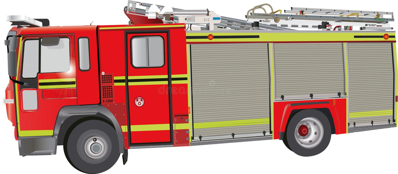 De Motor van de brand stock illustratie