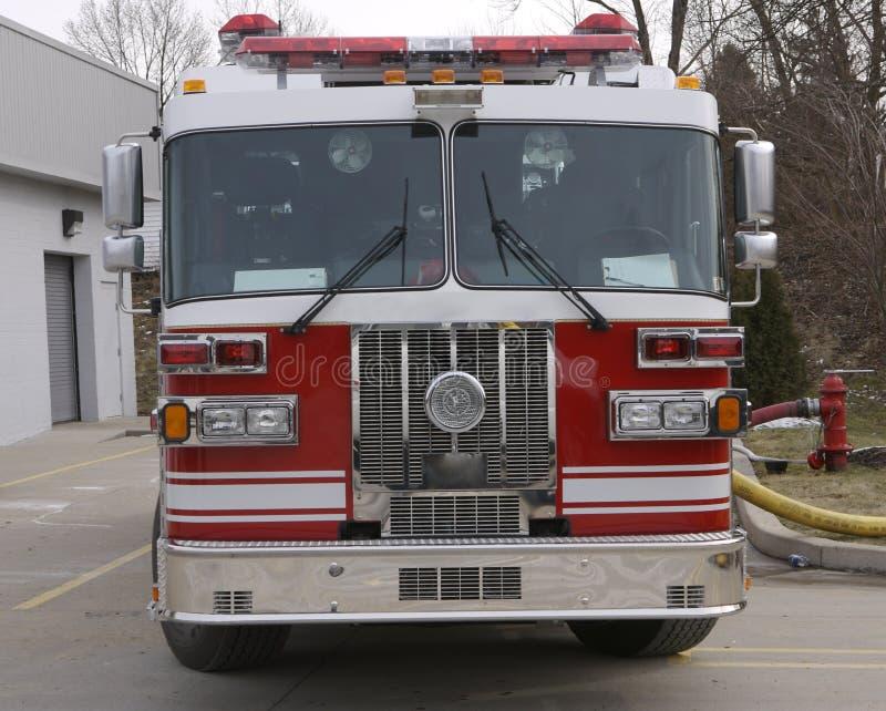 De Motor van de brand stock foto's
