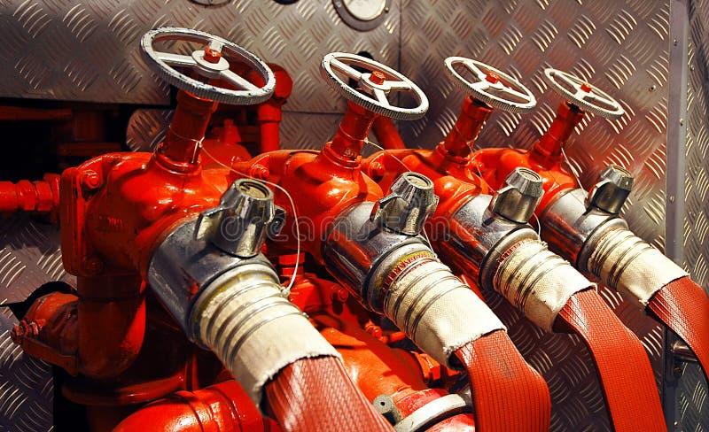 De Motor van de brand royalty-vrije stock foto's