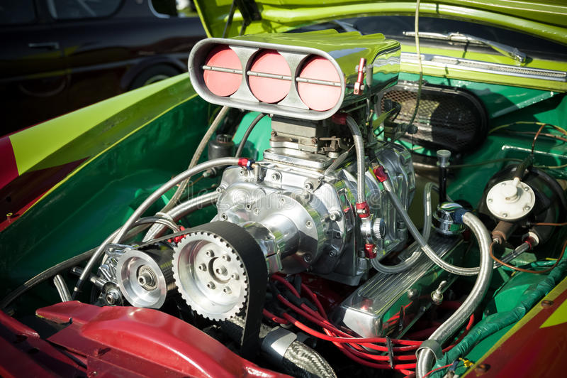 De motor van de heet-staaf stock afbeeldingen