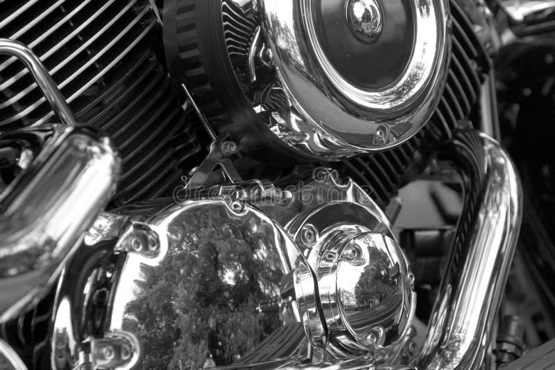 De motor van de motorfiets stock foto