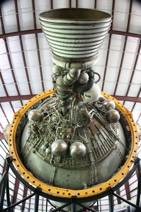 De Motor van de raket stock afbeelding
