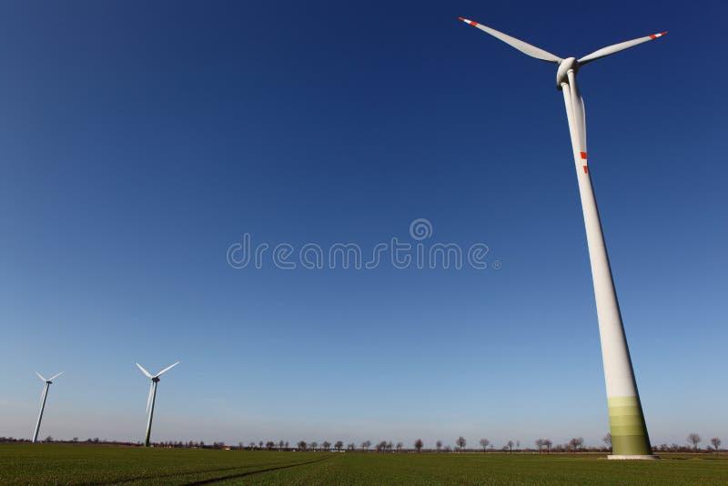 De motor van de wind royalty-vrije stock afbeeldingen