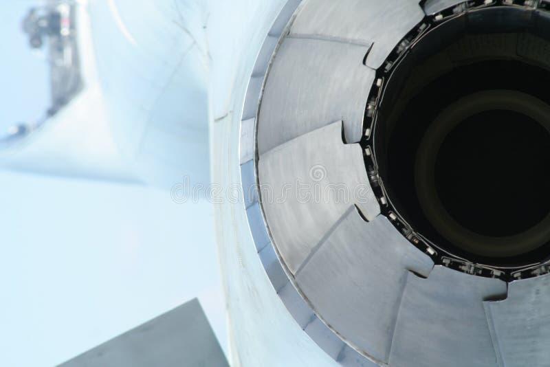 De motor van het vliegtuig royalty-vrije stock afbeeldingen