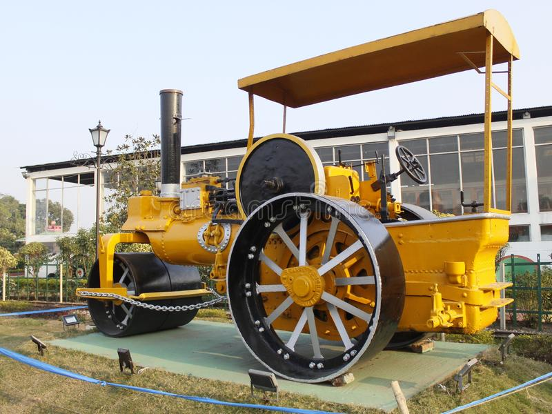 De motor van de spoorweg stock foto's