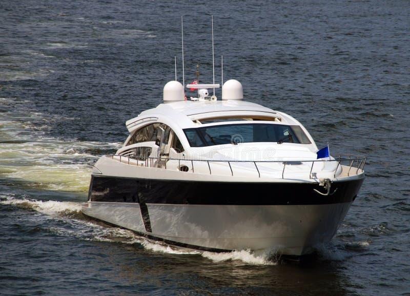De motorboot van de luxe royalty-vrije stock foto