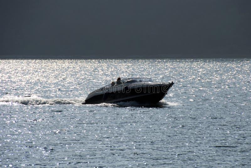 De motoren van de motorboot stock afbeeldingen