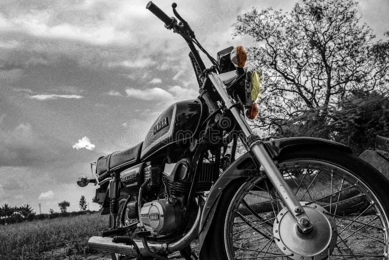 De motorfiets royalty-vrije stock afbeelding