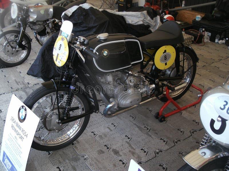1954 de Motorfiets van BMW RS54 Rennsport 490cc stock afbeeldingen
