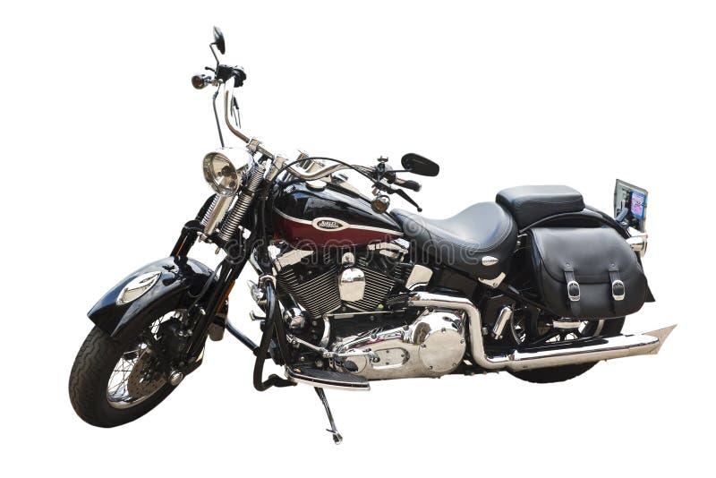 De motorfiets van Harley davidson stock foto