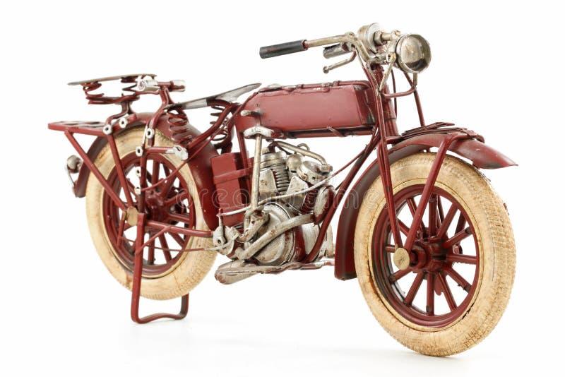 De motorfietsmodel van het tin stock fotografie