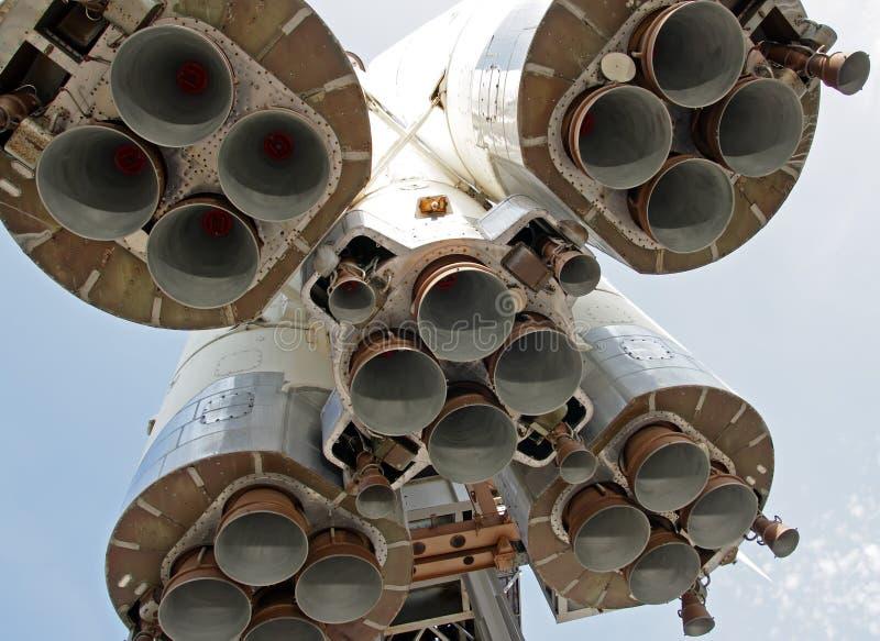 De motorpijpen van de raket royalty-vrije stock foto
