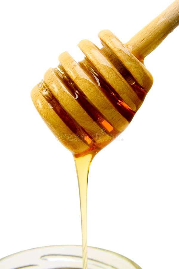 De motregen van de honing royalty-vrije stock fotografie