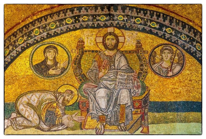 Mozaïek 04 van Sofia van Hagia royalty-vrije stock afbeeldingen