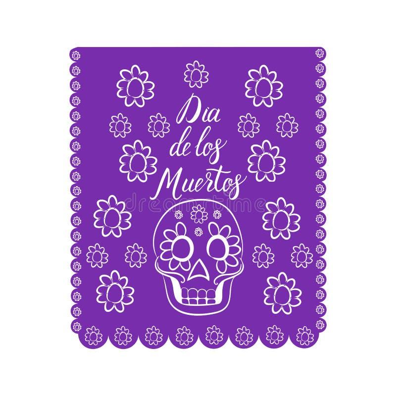 de muertos Dia Los royalty ilustracja
