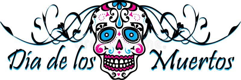 de muertos Dia Los zdjęcie stock
