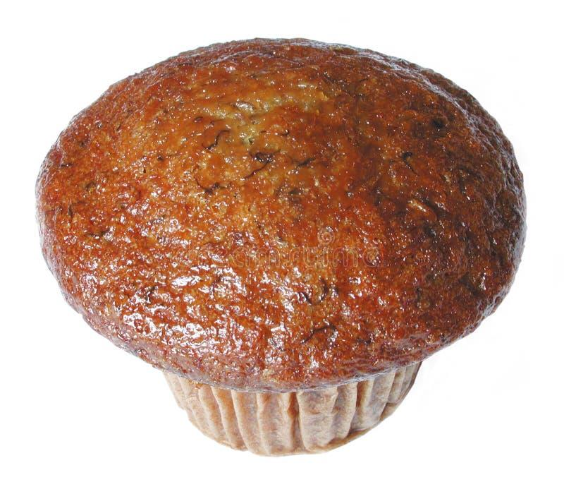 De muffin van de banaan stock foto's