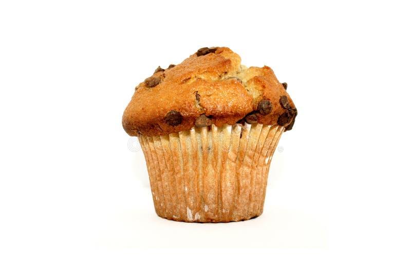 De Muffin van de Chocoladeschilfer royalty-vrije stock foto's