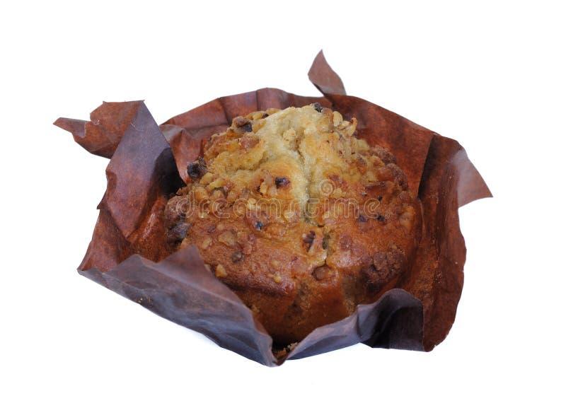 De Muffin van het Brood van de banaan stock fotografie