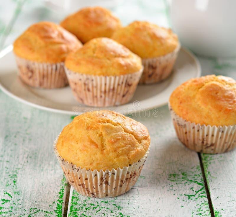 De muffins van het graan stock foto's